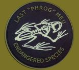 "Patch PVC  LAST ""PHROG"" MEU"
