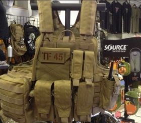 R.A.S.  Releasable Armor System  T.W.S.
