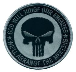 Patch OEF OIF ACU SF JUDGE ENEMY PUNISHER