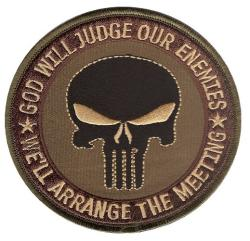 Patch OEF OIF OD SF JUDGE ENEMY PUNISHER