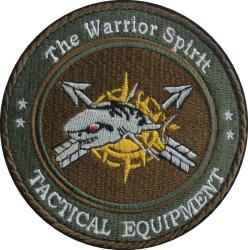 "Patch The Warrior Spirit ""Shark"""