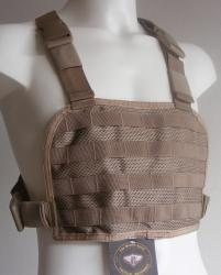 T.W.S. CHEST RIG TACTICAL TRAINING M.O.L.L.E. COYOTE