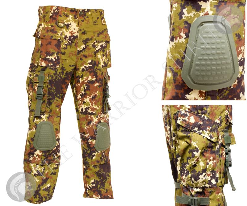 Pantalone combat tws vegetato for Interno coscia vuoto