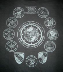 Naval Special Warfare Navy SEAL Group Two T-Shirt