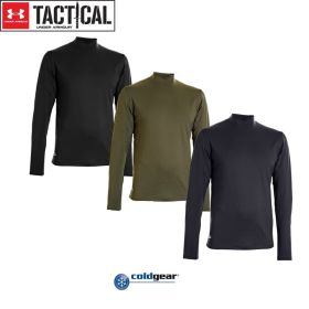 "Under Armour® ""ColdGear®"" Tactical Mock"