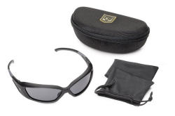 Hellfly® Ballistic Sunglasses Matte Black Frame with Polarized Lenses